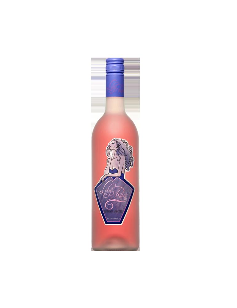 Lily Rose, Vin de France Rosé, Cave Coopérative La Fontesole des Vignerons de Fontès