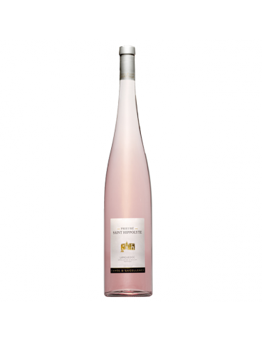 Prieuré Saint-Hippolyte Cuvée Excellence - Magnum, Vin AOP Rosé du Languedoc, cave La Fontesole des Vignerons de Fontès