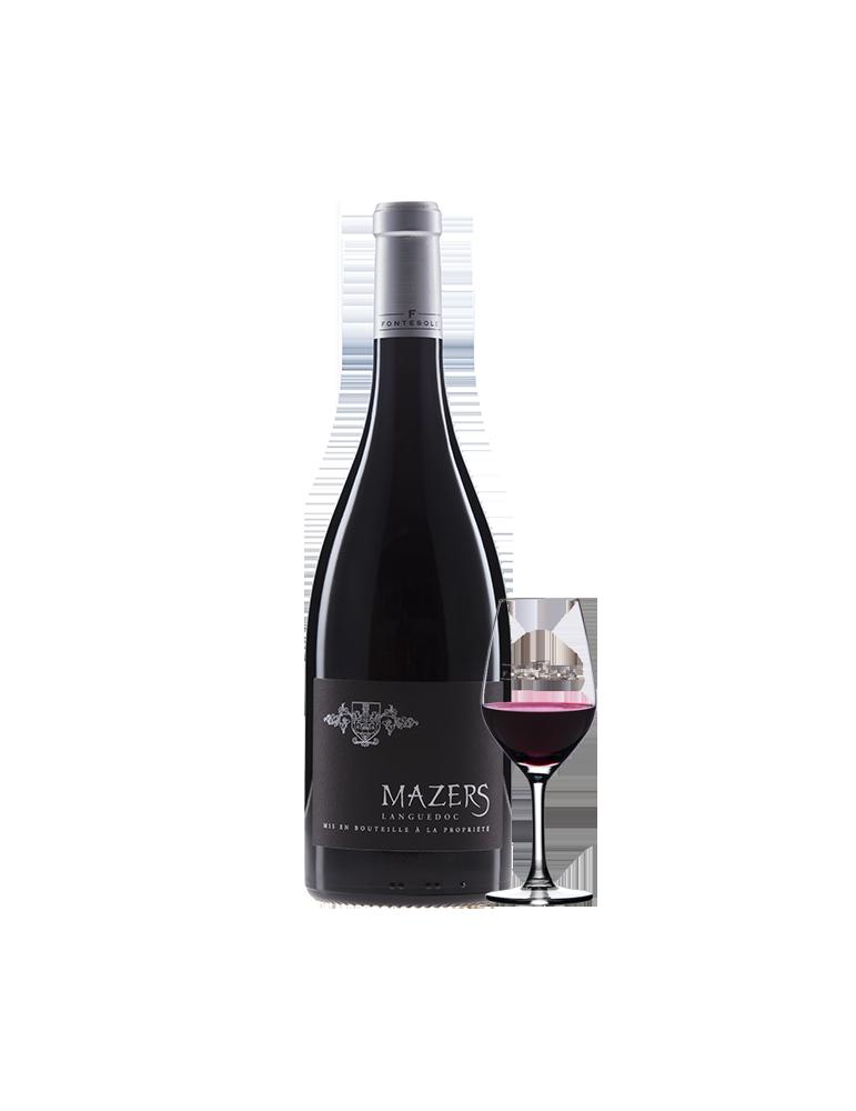 Mazers Vin AOP Rouge du Languedoc, Cave Coopérative La Fontesole des Vignerons de Fontès