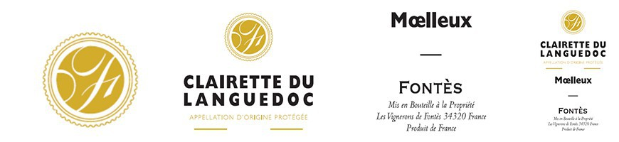 Clairette du Languedoc Roussillon, vin AOP du Languedoc blanc mœlleux